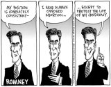 Mitt Romney's Positions: Trying To Hit A Moving Target